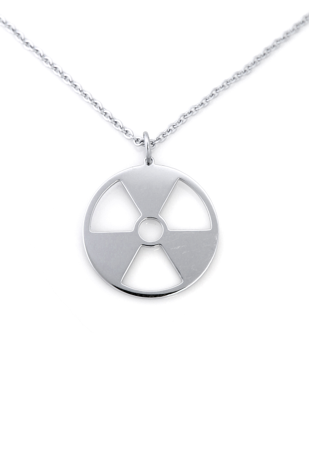 [SYMPHONYOFSYMBOLS] RADIATION HAZARD NECKLACE
